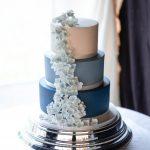 Blue Handmade Sugar Flowers
