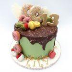 Donuts Drip Cake