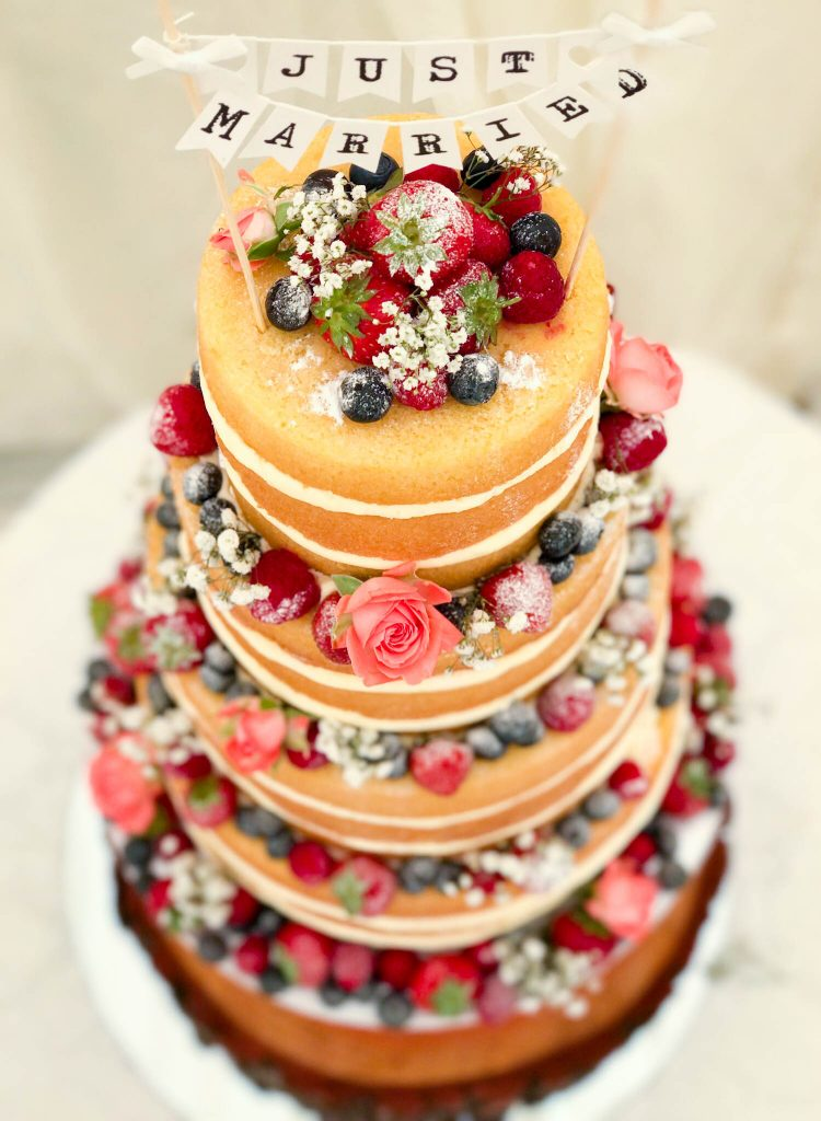 Fruit Naked Cake