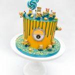 Minion Drip Cake