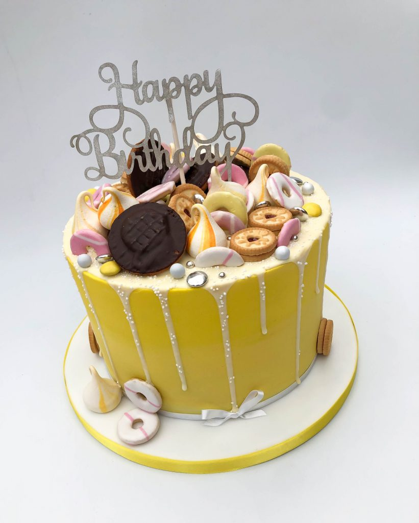 Biscuit Drip Cake