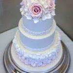 Handmade Roses & Ombre Ruffles