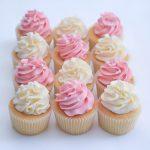Pink & White Swirls