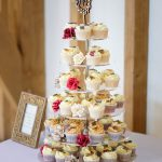 Autumn Leaves Cupcake Tower