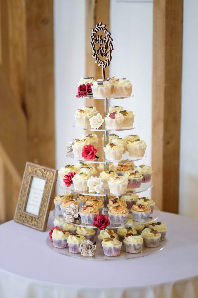 Autumnal Cupcake Tower