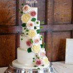 Handmade Sugar Ivy and Roses Cascade