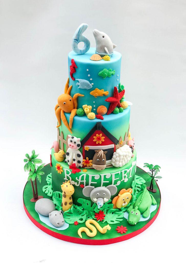 Animals Cake