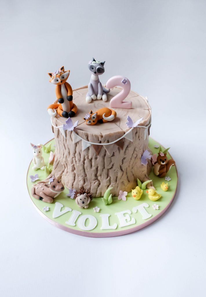 Tree Stump & Animals