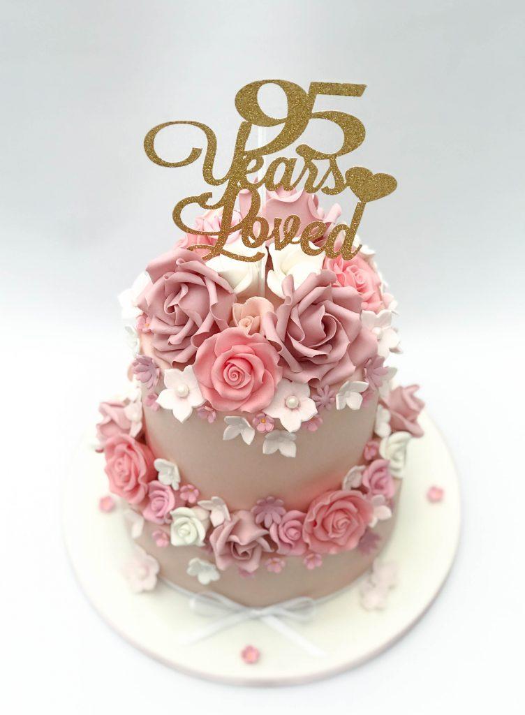 Pink & White Florals