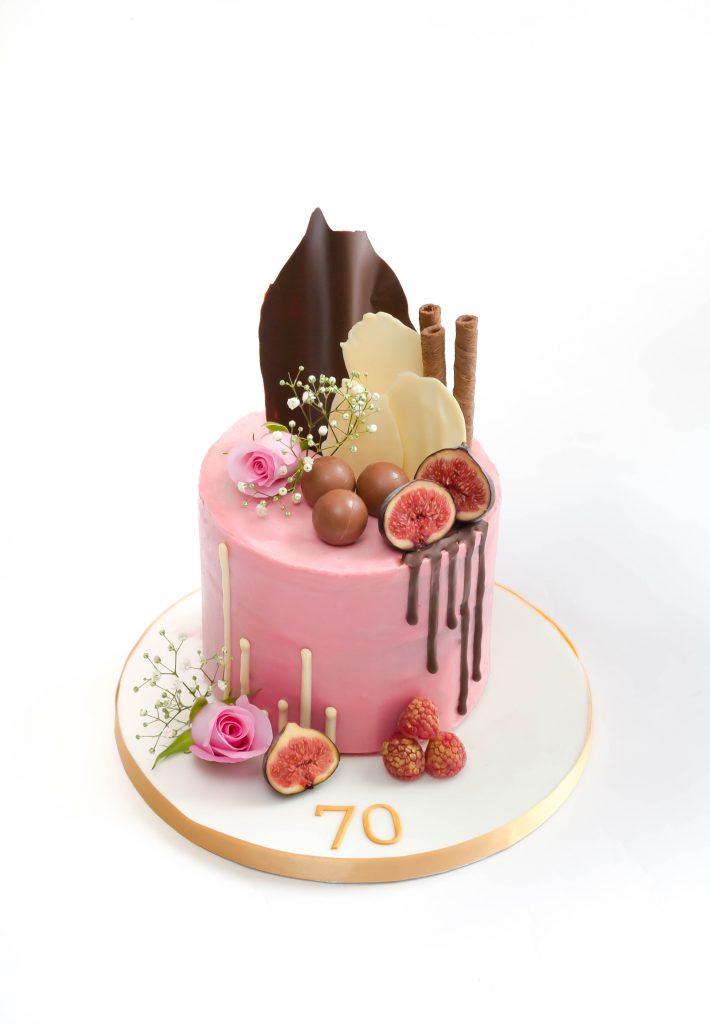 Chocolate Sails Drip Cake