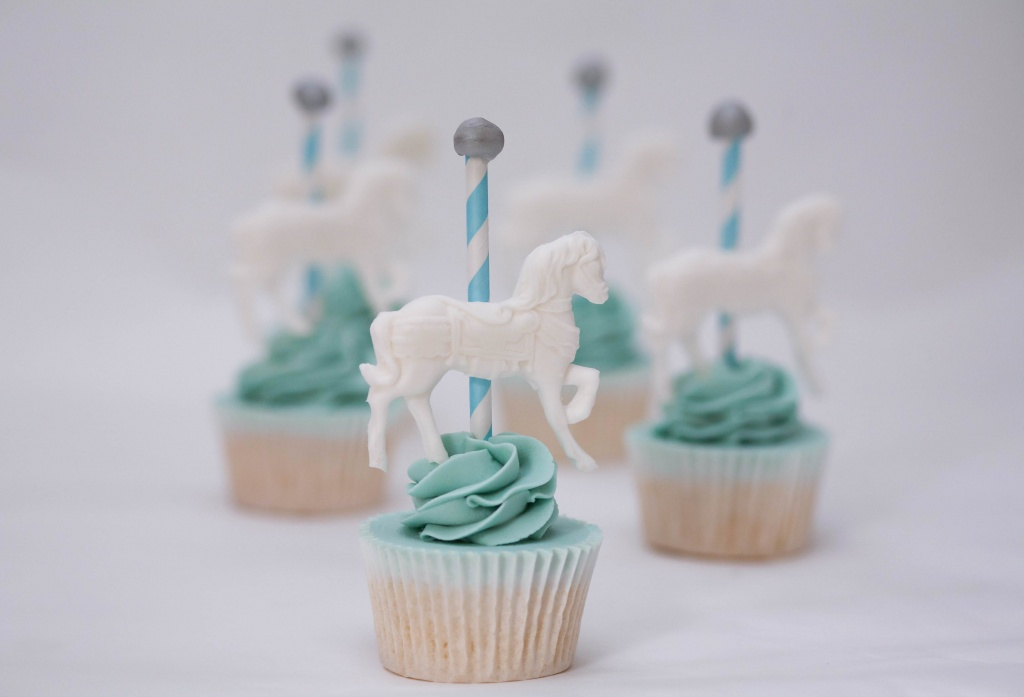 Carousel Horse Cupcakes