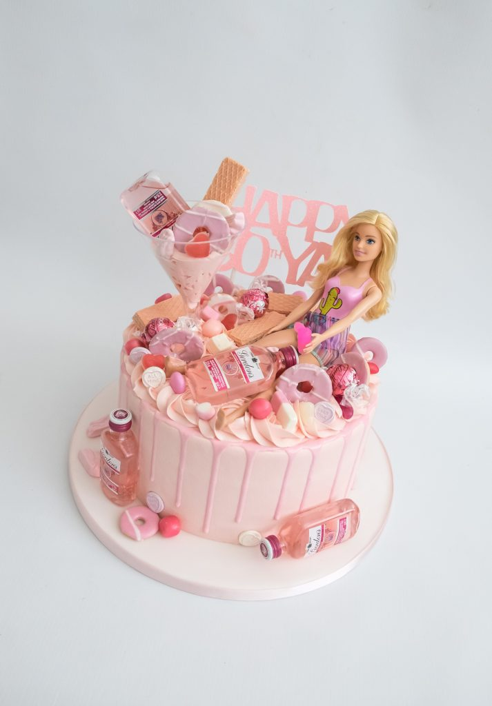 Barbie and Pink Gin